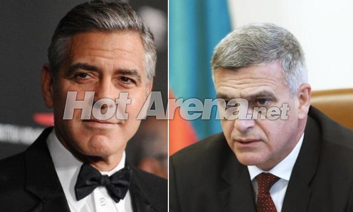 Най-желаният мъж в света Джордж Клуни е двойник на служебния